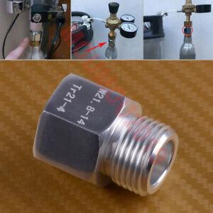 SodaStream CO2 Cylinder Adapter Aquarium Fish/Home Brew Beer Keg Tank Regulator