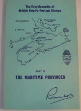 Maritime Provinces Encyclopedia of British Empire Postage Stamps Robson Lowe