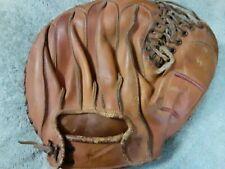 NOKONA MITT Glove baseball vintage leather old catchers softball cowhide RHT 🥎