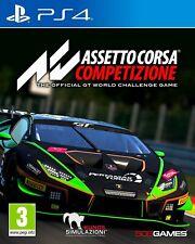 ASSETTO CORSA COMPETIZIONE PS4 NUOVO SIGILLATO ITA PLAYSTATION 4 GT SPORT CORSE