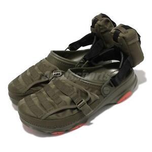 Crocs x BEAMS Classic All Terrain Outdoor Green Men Sandal Shoe 207448-309