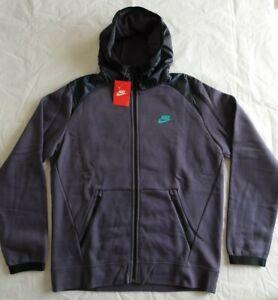 614486-512 NWT Men's Nike Sportswear Hybrid Hooded Full-Zip Jacket, Large