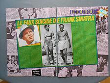 ►CLIPPING - COUPURE DE PRESSE : LE FAUX SUICIDE DE FRANK SINATRA