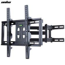 TV Wall Mount Bracket Full Motion LCD LED Bracket Double Arm Cantilever15 Tilt