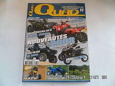 QUAD PASSION MAGAZINE N°88 10/2007 KYMCO MXU 400 UXV 500 HONDA TRX700XX   H7