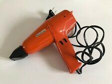 ♦ Ancien Sèche-Cheveux Séchoir Moulinex Orange Authentique Vintage Fonctionne