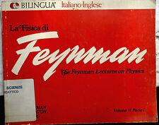 La fisica di Feynman Volume II parte I Bilingue Elettromagnetismo e materia 1969