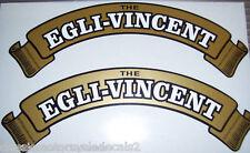 VINCENT EGLI - VINCENT PETROL TANK DECALS