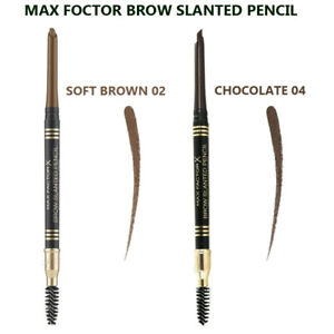 MAX FACTOR BROW SLANTED EYEBROW PENCIL - UP TO 10% OFF - FREE P&P - SELECT SHADE