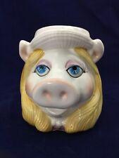 Vntg 80'S , Miss Piggy Cup / Mug Taste Setter w/ Original Label
