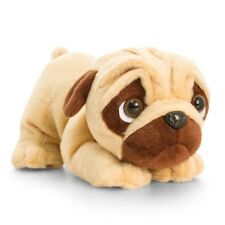 Pug Pugsley With Sound Plush Stuffed Soft Toy Dog 26cm by Keel Toys