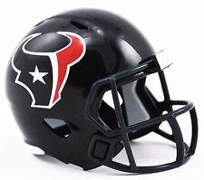 NEW NFL American Football Riddell SPEED Pocket Pro Helmet HOUSTON TEXANS