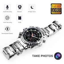 IR Night Vision Smart Watch Full HD 1080P Spy Camera Waterproof Video Recording