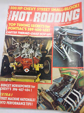 Popular Hot Rodding Magazine Pontiac Tuning Secrets October 1973 052217nonr