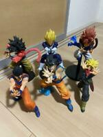 Dragon Ball Lot of 6 Figures Figurines Bundle Bulk Goku Gohan Vegeta etc.