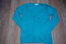 Vero Moda pull col V bleu foncé et Fashion cardigan turquoise XL