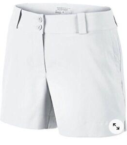 NWoT Womens Nike Golf Shorts White Authentic Size 2