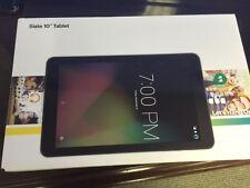 "NEW 10"" SLATE Sprint TABLET Model AQT100 Black 4G LTE only 16GB Memory 1GB RAM"