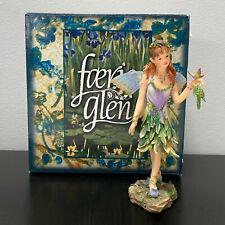 Faerie Glen Munro Fairy Fernwhisper FG801 Figure Retired in Box