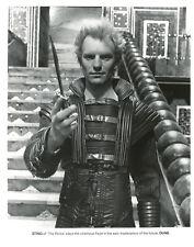 Sting in movie Dune ORIGINAL 8x10 photo #U7701