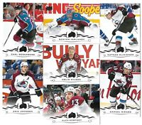 2018-19 Upperdeck Series 2 & Series 1 FULL Team set COLORADO AVALANCHE(13 Cards)