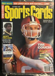 Sportscards Magazine Price Guide Tim Couch Cover October 1999