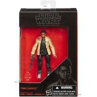 Star Wars: The Black Series Finn (Jakku) 3.75 inch Posable Figure with Gun - NIP