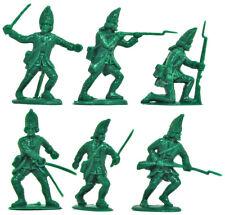 Charbens Recasts - 6 18th Century Grenadiers - 60mm unpainted plastic