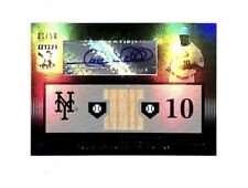 2010 Topps Tribute Gary Sheffield 32/50 black auto autograph bat card Yankees