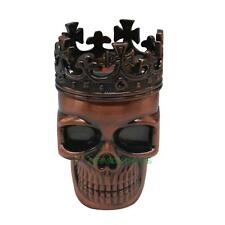 Universal Skull King with Crown Cross Design Tobacco Cigar Spice Grinder Crushe