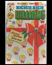 Richie Rich Billions #8 1976 Harvey Comic