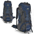 Waterproof 80L Outdoor Sports Travel Backpack Hiking Climbing Bag Rucksack Large