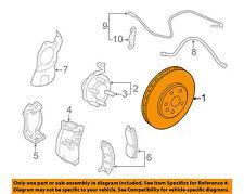 Cadillac GM OEM 08-14 CTS Front Brake-Disc Rotor 25946317