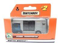 Matchbox MBX Superfast 1999 No 2 Bedford Horsebox blue gray German issue