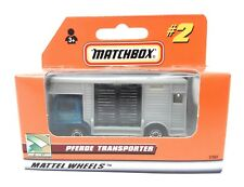 Matchbox MBX Superfast 1999 No 2 Bedford Horsebox blue gray German issue