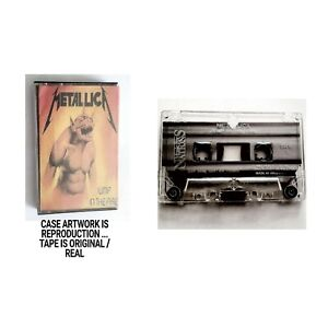 Metallica JUMP IN THE FIRE CASSETTE TAPE ONLY 1983 Music For Nations T12 KUT 105