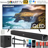 "Samsung 65"" Q70 QLED Smart 4K UHD TV 2019 Model + Soundbar with Subwoofer Bundle"
