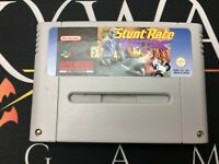 Stunt Racer FX - Super Nintendo (TESTED/WORKING) EUR PAL