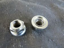 SUNTOUR 9 mm AXLE NUTS FRONT SEALED HUB VINTAGE BMX MOUNTAIN ROAD SPECIALIZED