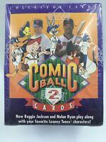 1991 Upper Deck Comic Ball Series 2 Trading Card Box Reggie Jackson Nolan Ryan
