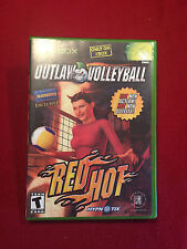 Original XBox Video Game Outlaw Volleyball Red Hot Rated T NICE