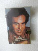 JULIO IGLESIAS JULIO RARE orig CASSETTE TAPE INDIA CLAMSHELL 1994