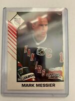 TWO (2) Mark Messier New York Rangers 1993 Kenner Starting Lineup cards only