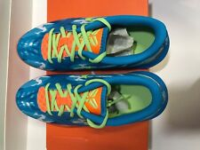 Kids Nike Kb Mentality Basketball Shoes Size 4.5Y 705387 100 Clear Blue