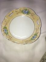 Beautiful Vintage Meito China Hand Painted Bowl Serving Candy Dish Made in Japan