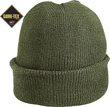 Olive Drab Military Wool GORE-TEX Knitted Winter Hat Watch Cap