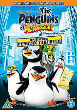 Penguins Of Madagascar - Happy King Julien Day [DVD], Good DVD, John Di Maggio,