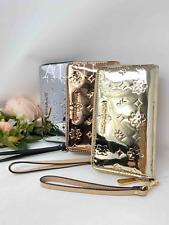 Michael Kors Wallet Jet Set Travel Large Pale Rose Gold Silver MF Phone Case