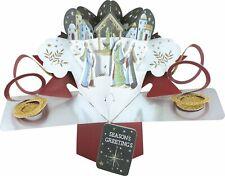 Navidad Natividad pop-up Tarjeta de saludo tarjetas de segunda naturaleza 3D Pop Up