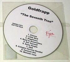 GOLDFRAPP - THE SEVENTH TREE - CD PROMO 10 Trks  Nuovo Unplayed